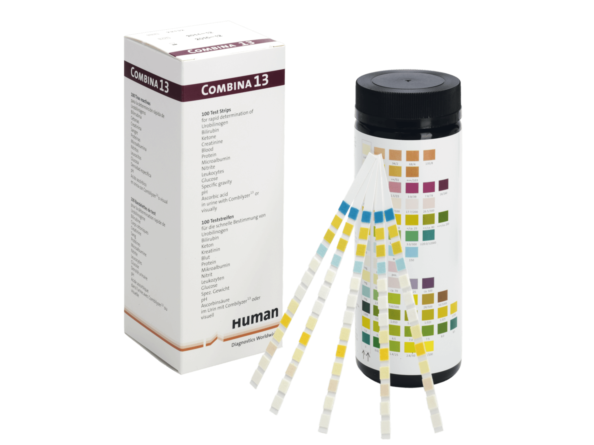 Combina urine strip